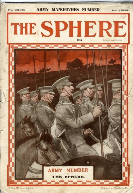 1910 THE SPHERE Illustrated Newspaper PLAGUE IN CHINA Elizabeth Gaskell SARAH BERNHARDT (7550)
